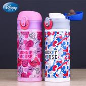 迪士尼保温杯儿童水壶小孩水杯便携防漏宝宝直饮杯不锈钢喝水杯子