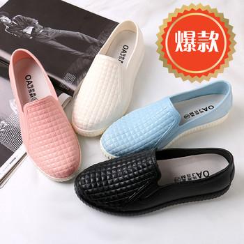 新款时尚雨靴低帮最新注册白菜全讯网保暖雨鞋女