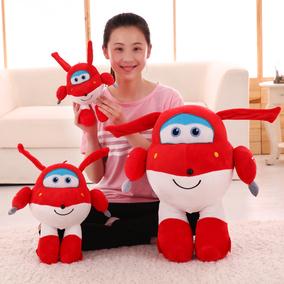 新品卡通毛绒玩具超级小飞侠公仔动漫乐迪玩偶男女孩儿童节日礼物