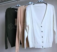 【钱夫人】CHINSTUDIO定制基础简约款亲肤舒适好搭配三色针织开衫