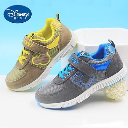 迪士尼 男童潮跑步运动鞋