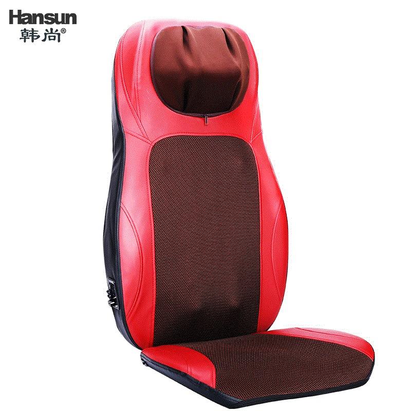 颈部腰部按摩多功能靠垫家用全身肩背椅垫推拿电动