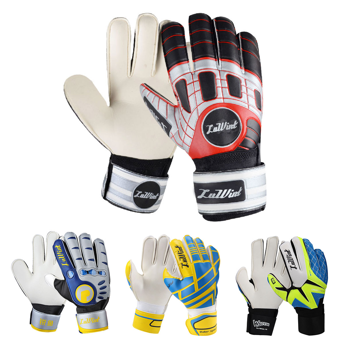包邮 8-10号 足球守门员手套 正品带护指门将手套 运动龙门手套