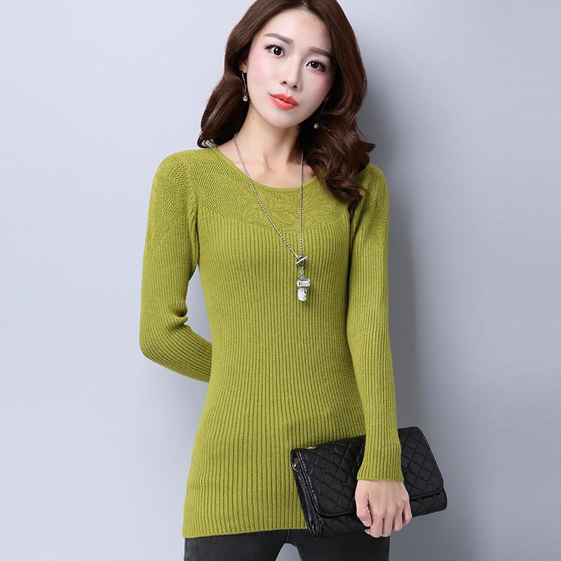 正品[毛衣中款修身]毛衣修身款评测 打底毛衣中