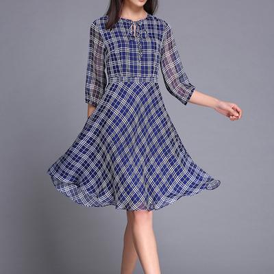 茉希2016 连衣裙春千百惠怪怪树专柜正品唯品柜品牌女装长裙短袖