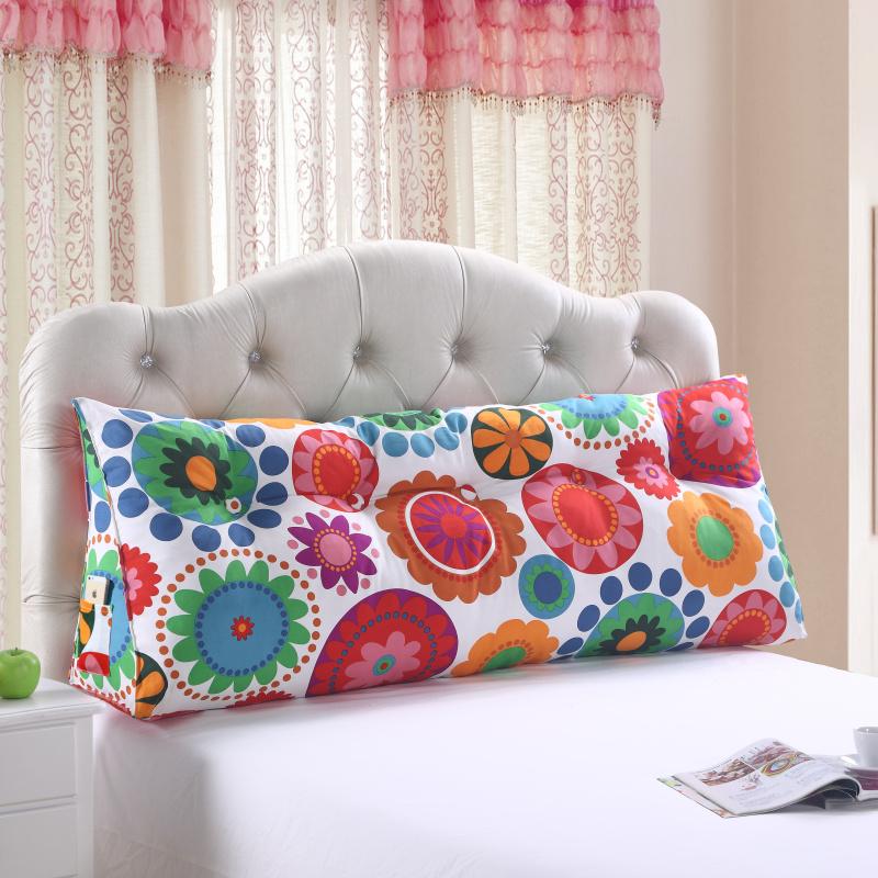 裕生  韩版三角大靠枕 床头大靠背 双人婚庆情侣大靠垫沙发垫包邮