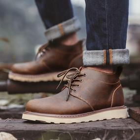马丁靴男靴子英伦风皮靴男士韩版潮流高帮工装靴夏季短靴军靴男鞋