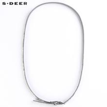 【新品】s.deer圣迪奥女士简约百搭时尚细韩版针扣腰带S15284441图片