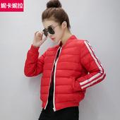 冬季外套韩版冬天小款学生休闲棒球棉服小棉衣女款短款加厚小棉袄