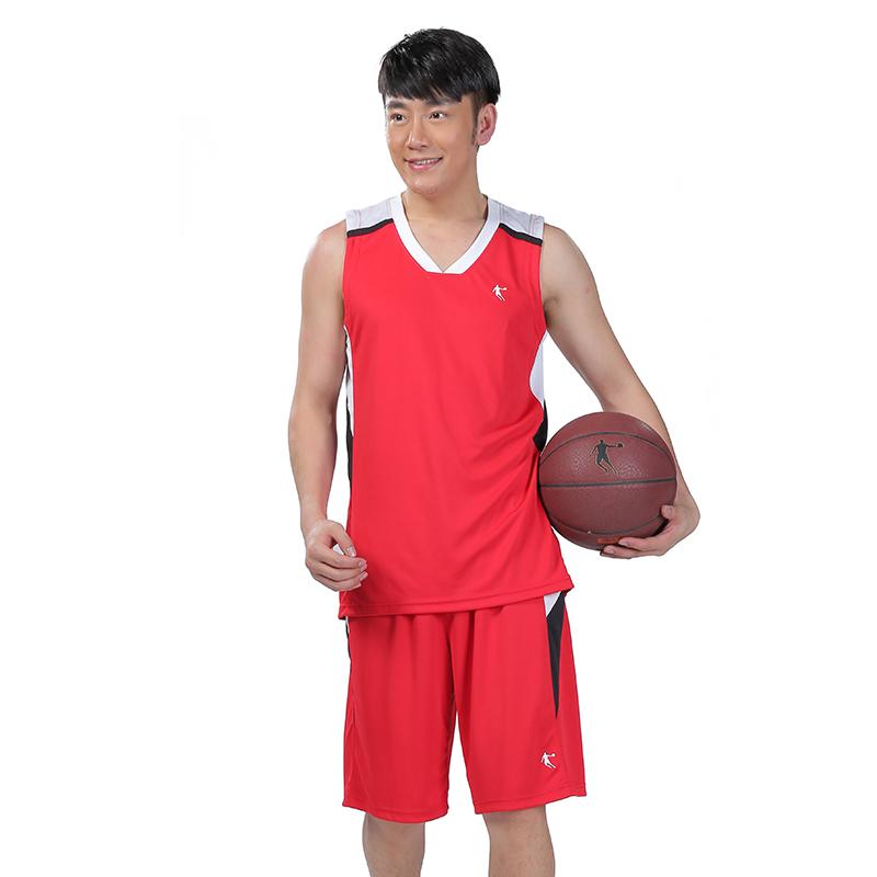 乔丹篮球服男套装正品2015秋冬季新款吸汗透气
