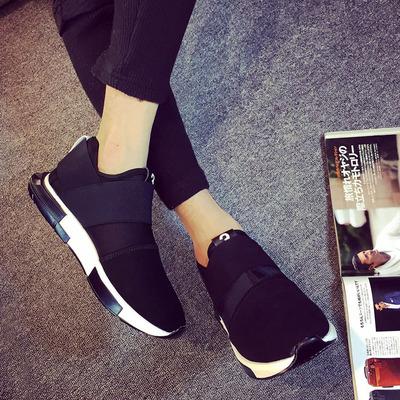 [年末疯促] 冬季一脚蹬青少年板鞋男士帆布鞋休闲男鞋子黑色潮鞋布鞋高帮韩版
