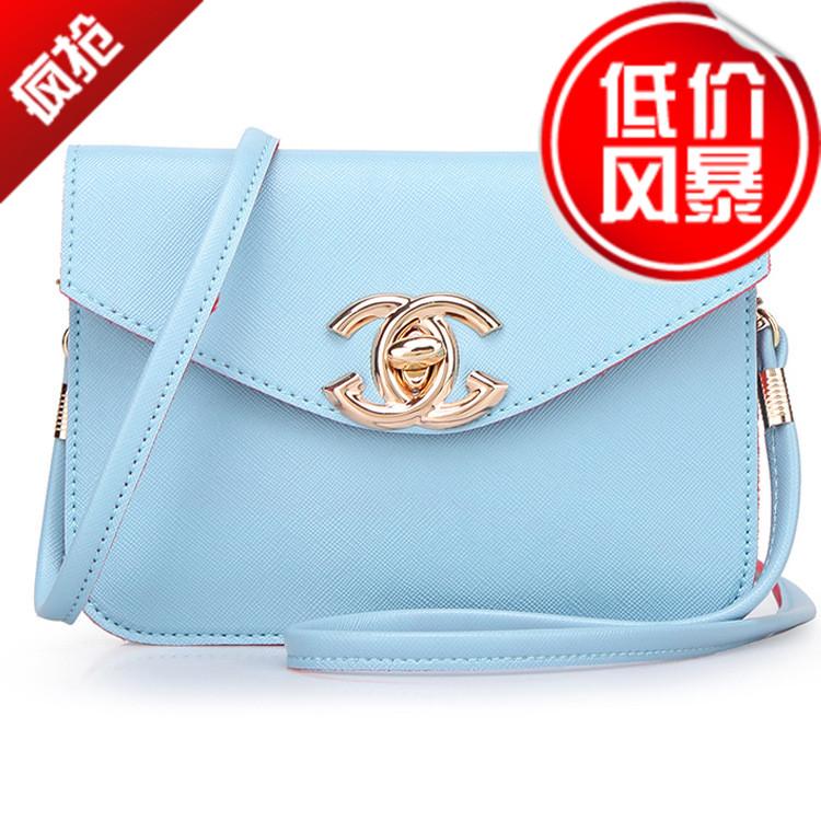 新款韩版时尚潮流百搭简约高档品质单肩斜挎手提 特价女士小方包