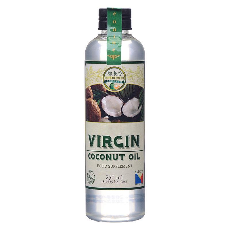 菲律宾原装进口 纯鲜冷榨 天然椰子油 250ml 进口食用油
