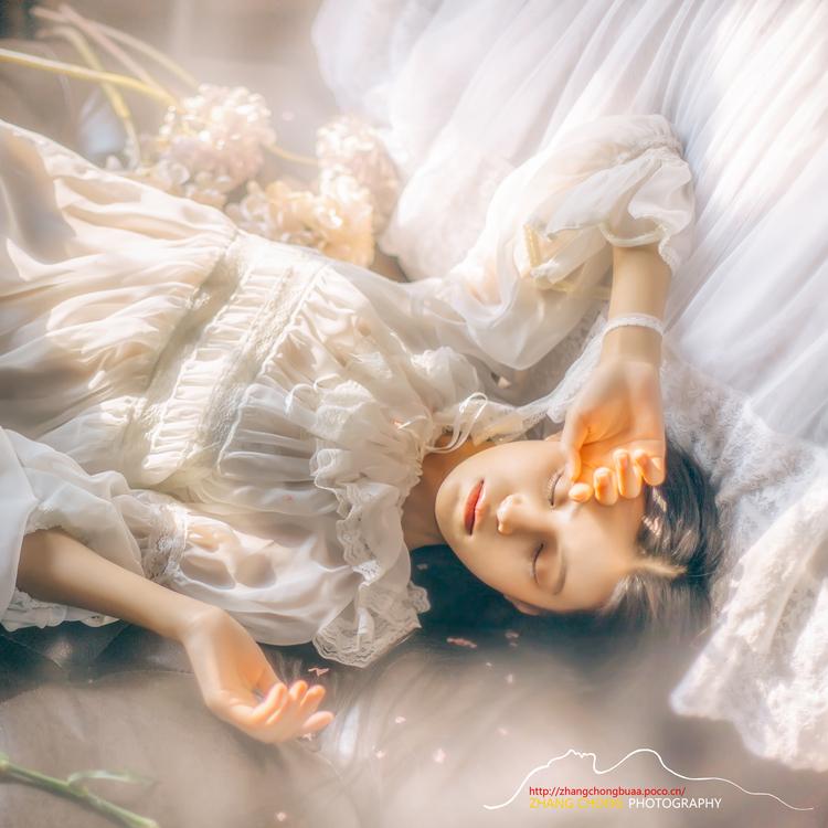 私房照同款 小白裙透视裙  古着睡袍睡裙 写真