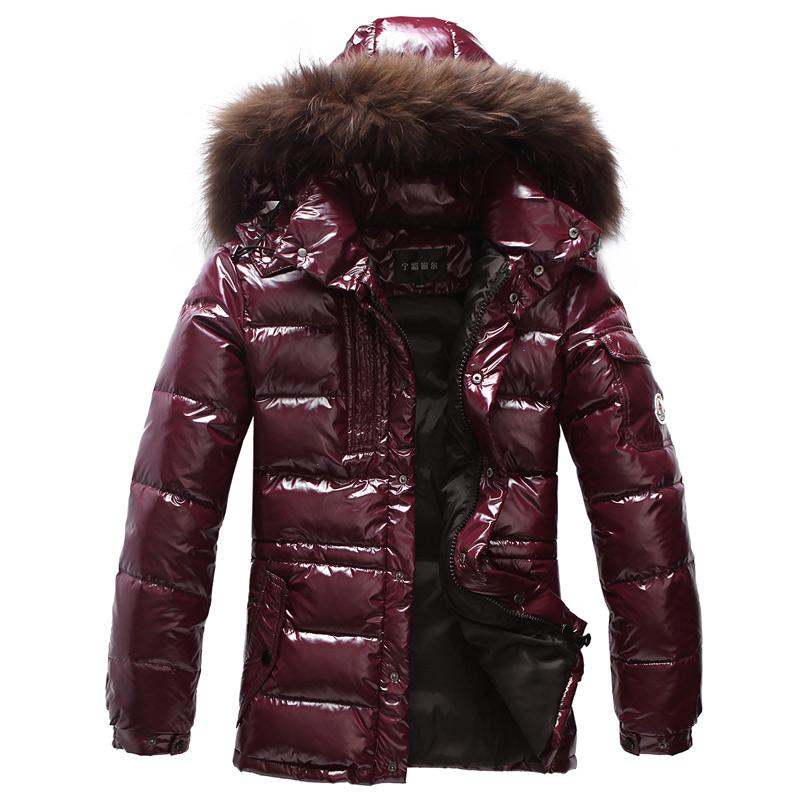 2014冬男装羽绒服男大毛领韩版修身中长款加厚男士羽绒服