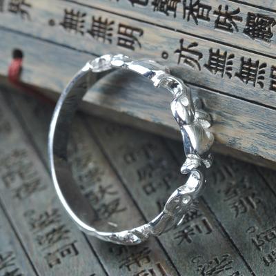 [促销] 云祥和云南民族银饰情侣戒指大象戒指民族风格银饰戒指送女友礼物