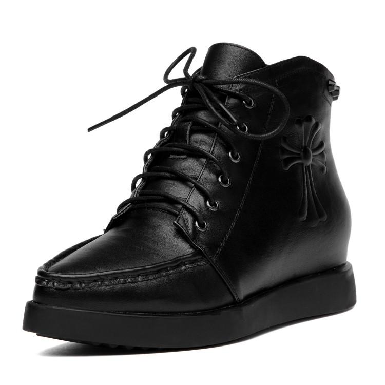马丁靴女欧洲站真皮秋季女式鞋新款靴子2014小牛皮欧美短靴铆钉潮