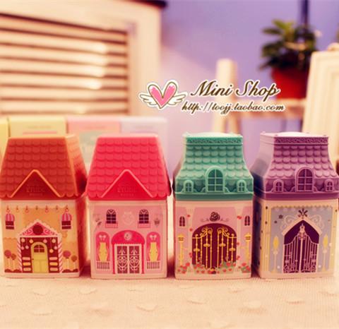 韩国爱丽小屋小房子城堡护手霜