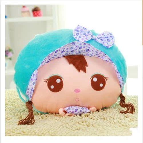 特价毛绒玩具卡通暖手抱枕办公午睡枕 可爱两用创意暖手捂