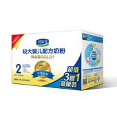 【天猫超市】君乐宝纯金装2段四联包较大婴儿奶粉 6-12个月 1600g