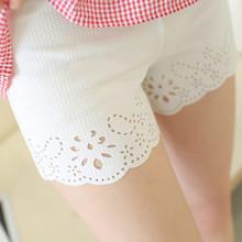 白色外穿三分防走光修身显瘦薄款打底女安全裤短裤保险裤夏