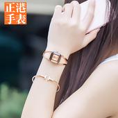 女士手表防水时尚款女学生韩版简约2017新款大气装饰手镯潮流休闲