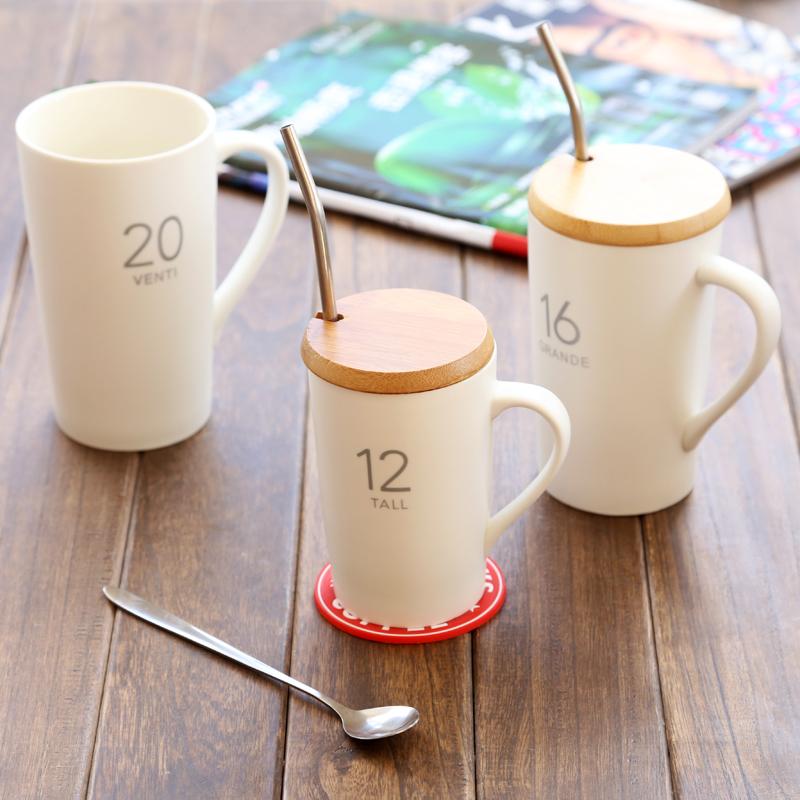 星巴克杯子正品 经典系列马克杯陶瓷杯水杯咖啡杯包邮带盖带手柄