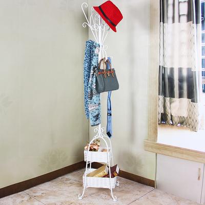 欧式铁艺衣帽架衣架落地卧室挂衣架