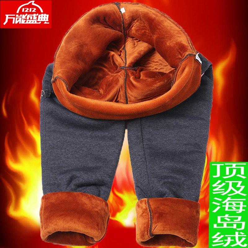 孕妇裤子冬保暖黄金绒棉裤加绒加厚打底裤长裤大码200斤托腹外穿