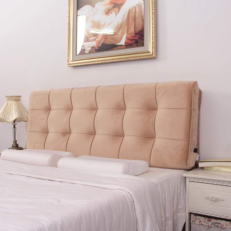 床头靠垫 布艺床头软包大靠背床屏靠背欧式长背靠