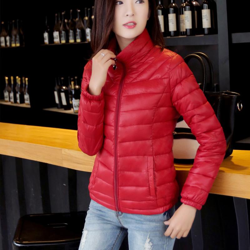 棉衣女短款2015冬季新款韩版轻薄修身羽绒棉服外套显瘦大码小棉袄