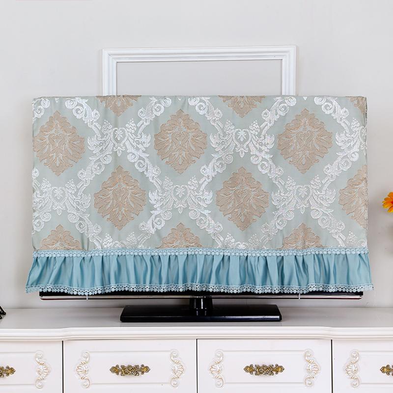 液晶电视机罩套42壁挂式50寸布艺47欧式盖巾电视罩防尘罩55英寸32