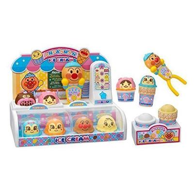 现货包邮日本进口面包超人冰激凌店角色扮演雪糕冰淇淋过家家玩具