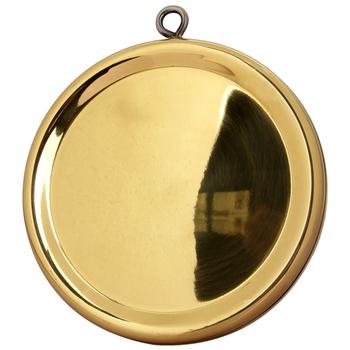 心诚阁 纯铜辟邪镜八卦镜 双面凹