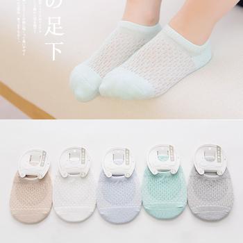 儿童薄袜子夏季纯棉3-5-7-9岁1薄