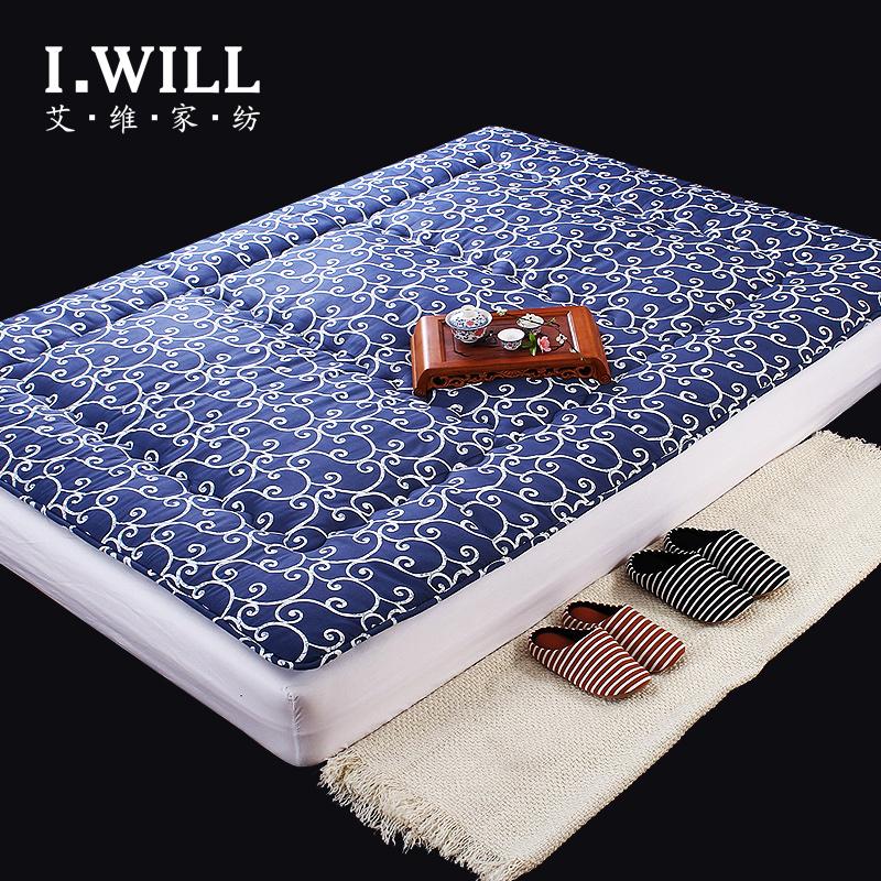 艾维家纺 全棉踏踏米床垫 学生宿舍用 加厚垫被褥子榻榻米包邮