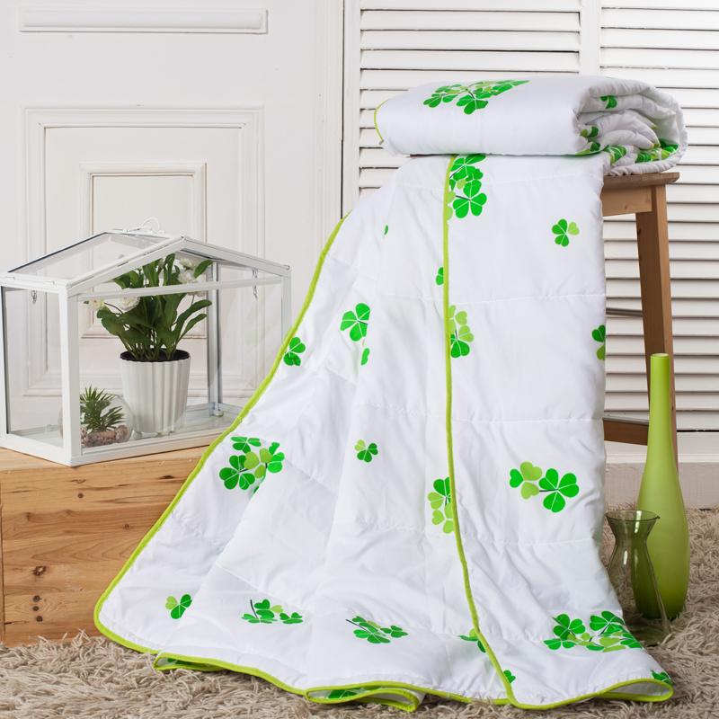 团家纺 幸运草 清新空调被 夏凉被 可水洗机洗合格品 布艺软饰