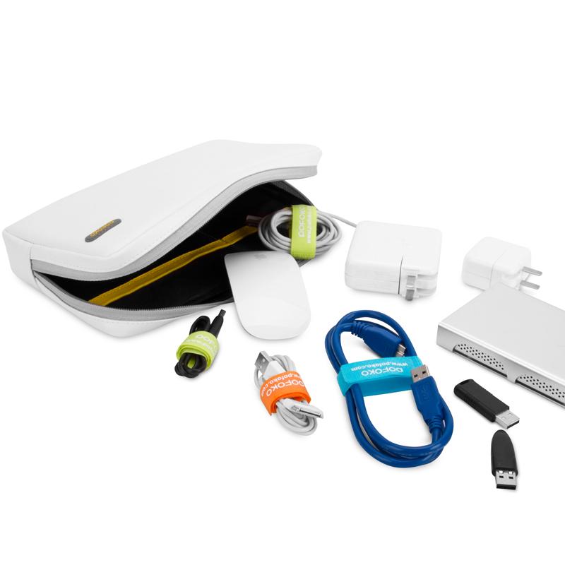 宝枫 大容量 数码整理包 硬盘包 数据线配件包 收纳包盒 电源包袋