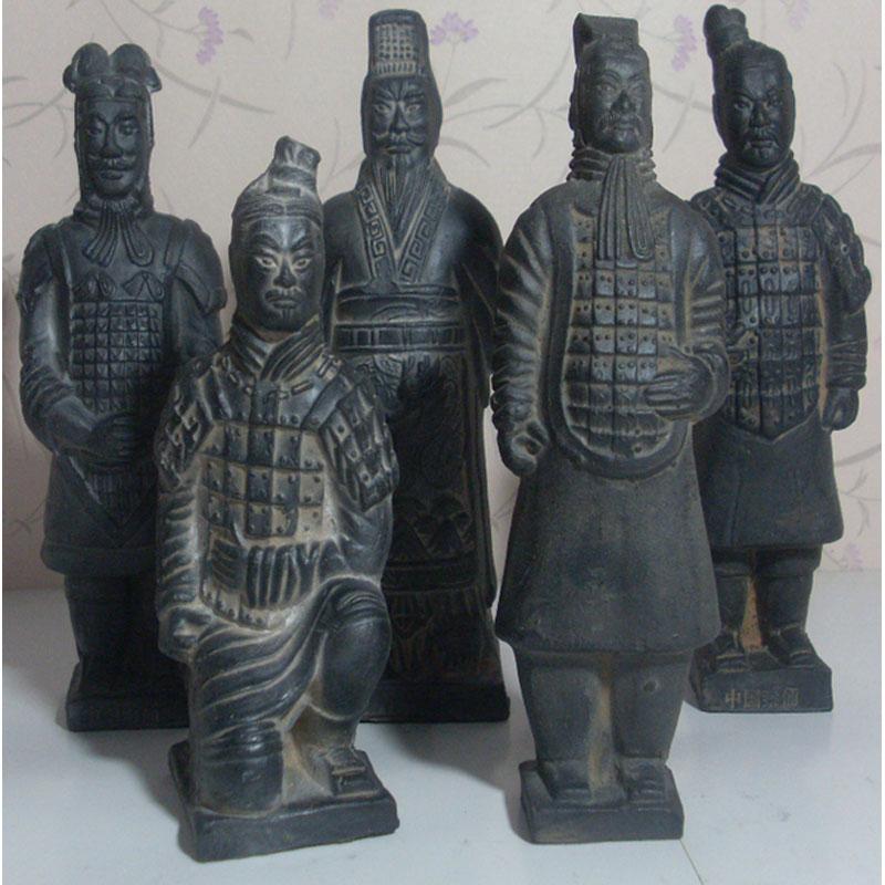 秦始皇兵马俑 工艺摆件 西安旅游纪念品 商务外事出国礼品送老外