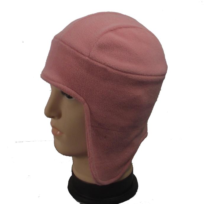 摇粒绒护耳帽子 冬天保暖风雪帽 防寒抓绒帽子套头帽
