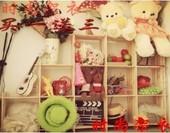 实木简易书架书柜货架置物架花架收纳储物架层架子幼儿园玩具架
