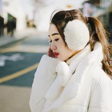 可爱仿兔毛耳暖超大耳包耳捂护耳保暖耳罩