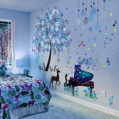 3D立体墙贴纸贴画卧室房间宿舍装饰海报创意个性温馨墙壁自粘墙纸