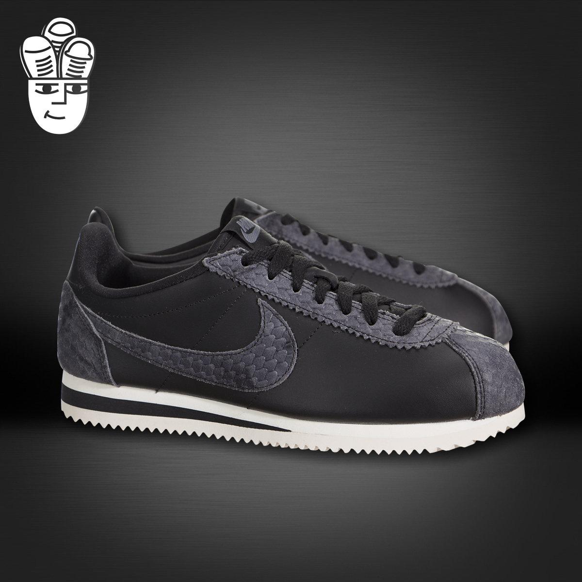 nike耐克女鞋2017新款cortez低帮透气复古休闲鞋跑步鞋902856-001