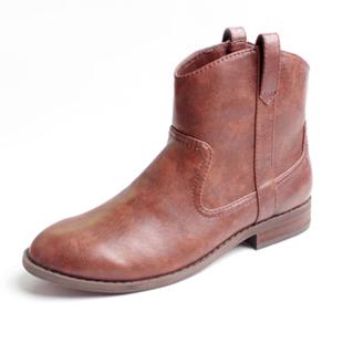 特价欧美风马丁靴短靴平底短筒裸靴中靴机车靴女靴子