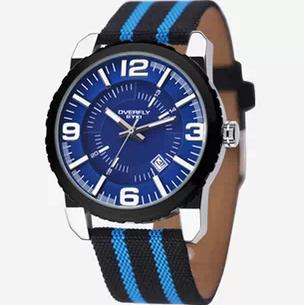 正品艾奇8542 帆布表带手表 男士手表 时尚潮流品牌表 运动手表