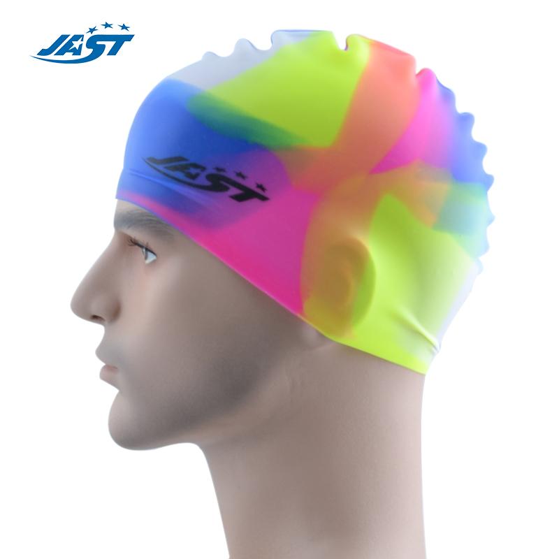 德国JAST(佳斯特)防止耳震和保护头部专业硅胶游泳帽JYM-205