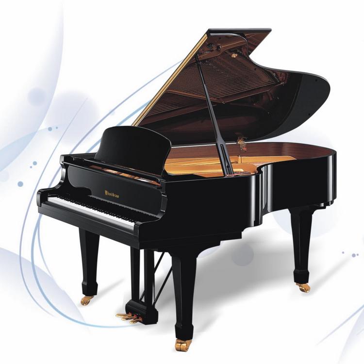 钢琴厂十年店!全新148型家用三角钢琴卧式钢琴典雅气派贵族象征