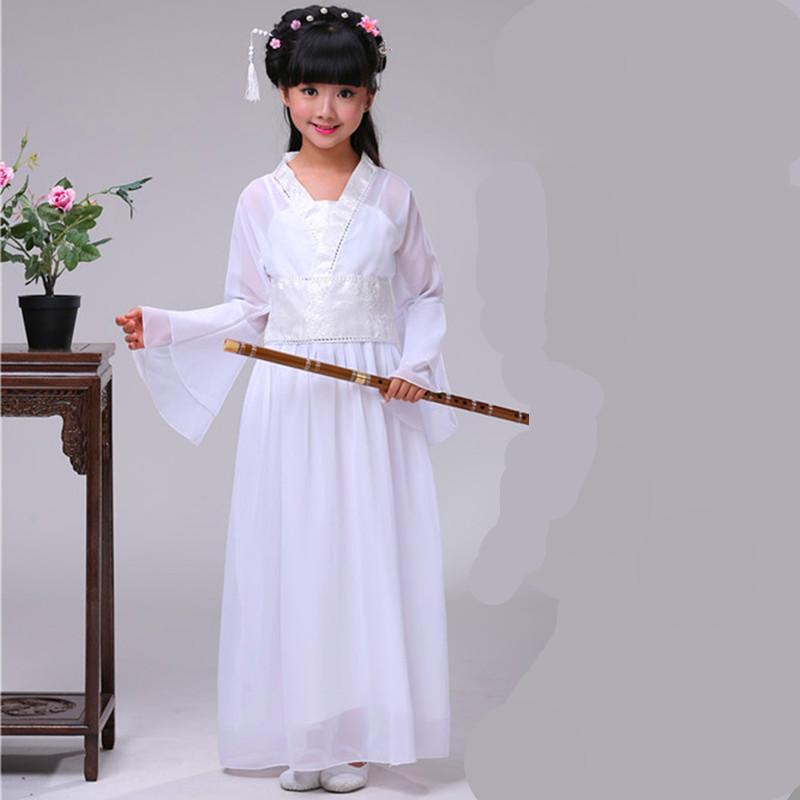 古装服装儿童仙女汉服公主贵妃唐装十里桃花三生三世碧瑶演出服图片