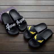 夏季拖鞋男士 韩版潮流一字拖浴室洗澡防滑厚底居家室内外凉拖鞋